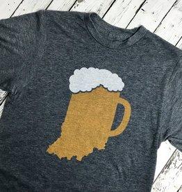 Indiana Beer Mug Long Sleeve Tee