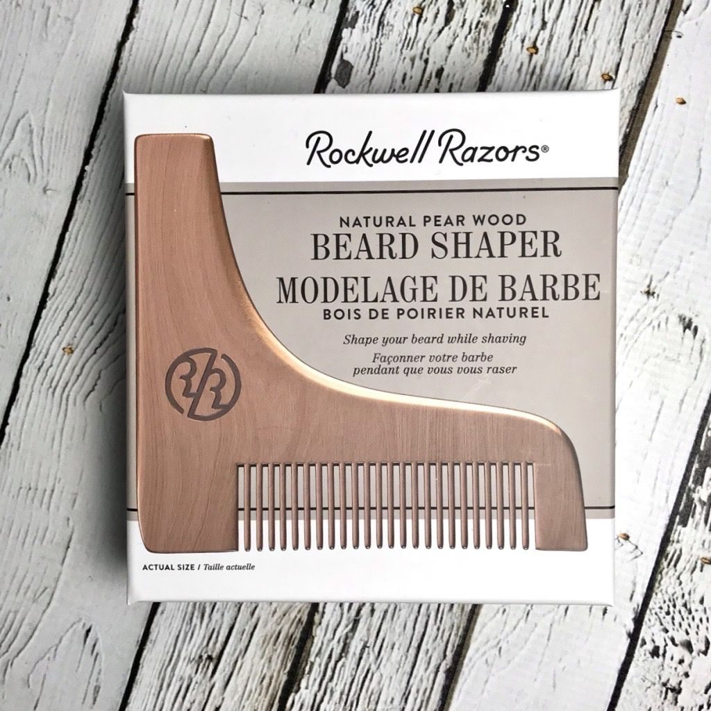 Rockwell Razor Beard Shaper Pear Wood