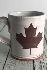 Handmade Justin Trudeau Screen Print Face Mug