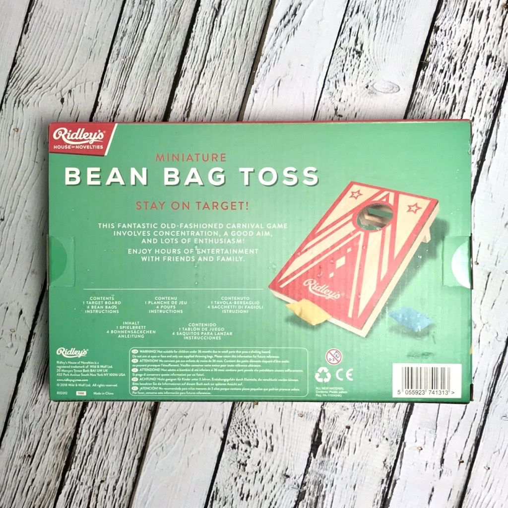 Miniature Bean Bag Toss