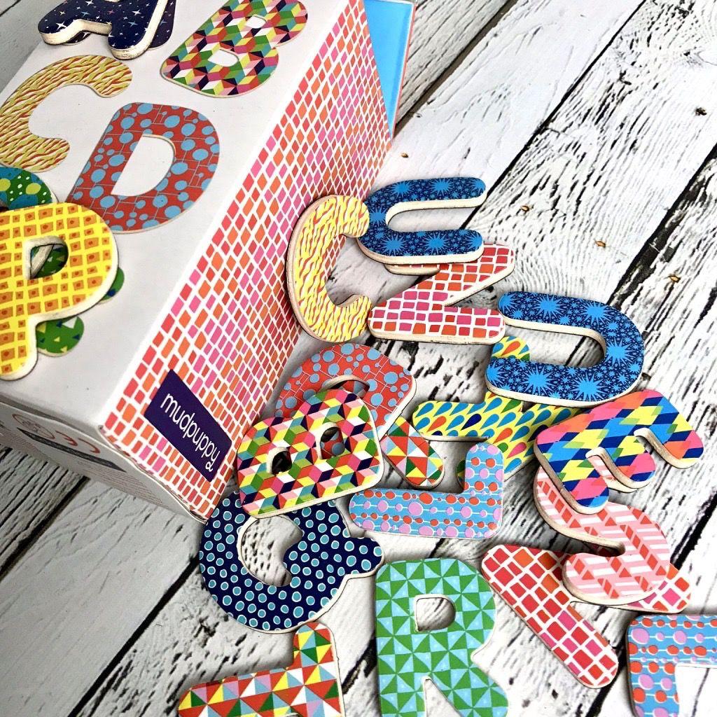 Magnetic Letters: Pattern Pop