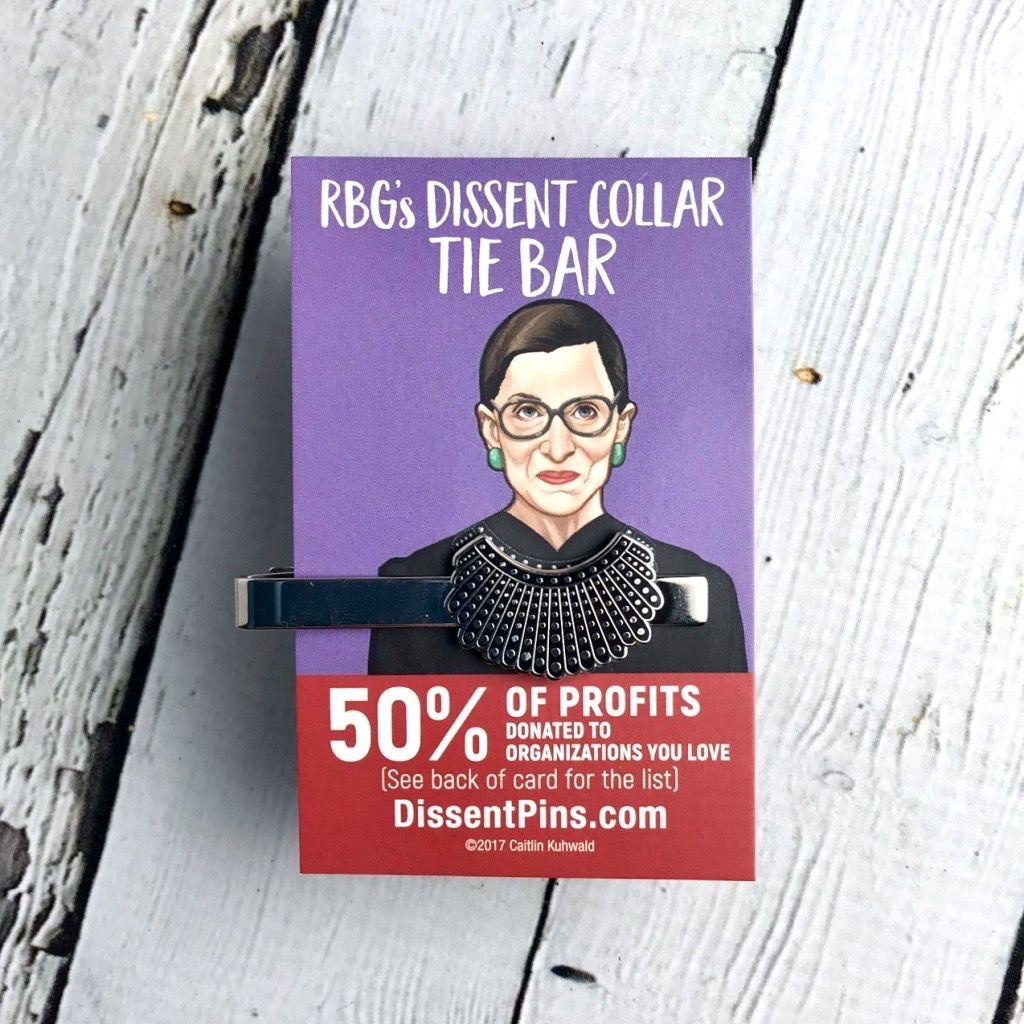 Dissent Collar Tie Bar