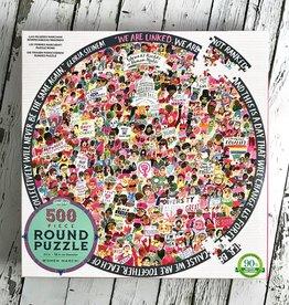 Women's March 500 Piece Round Puzzle