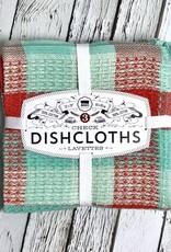 Fiesta Check Dishcloths