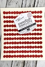 Red Swedish Dishcloth