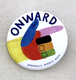 Women's March 2019 ONWARD Pin by Pincause