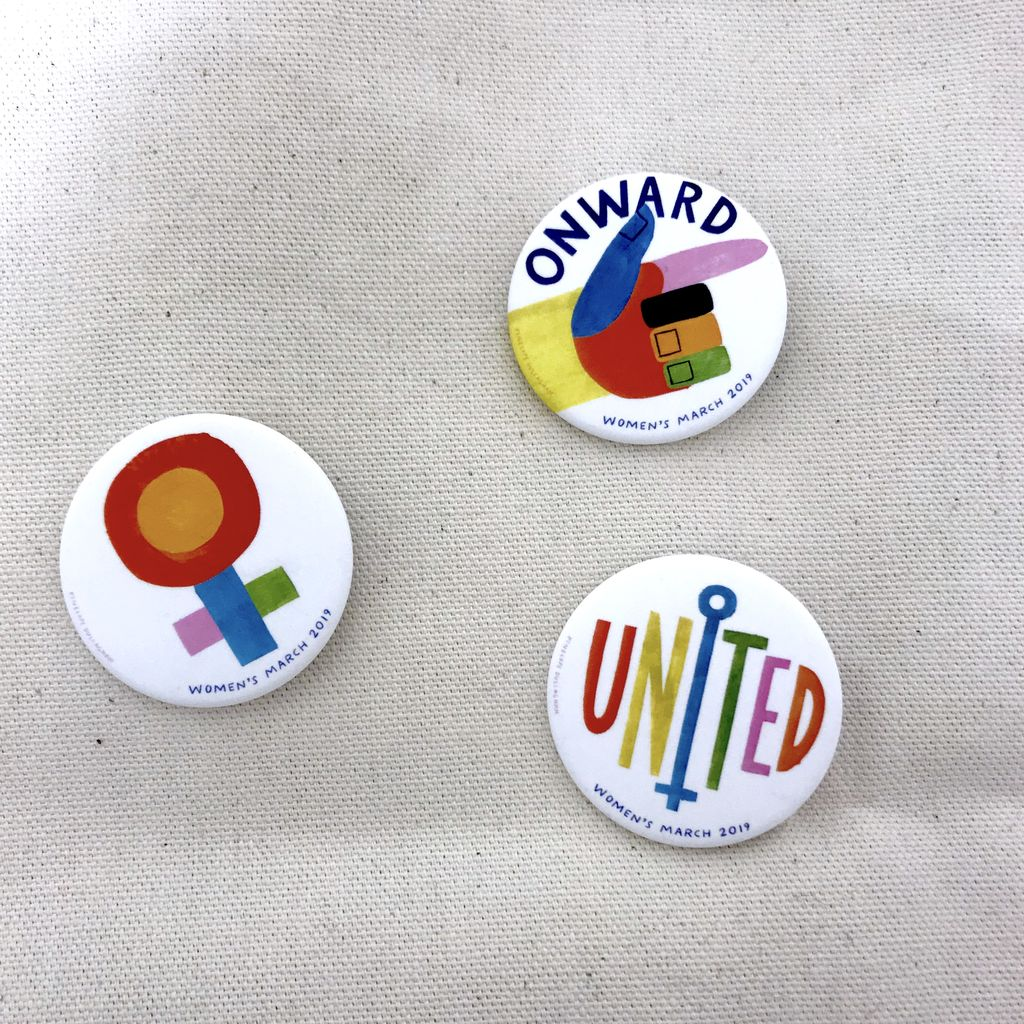 Women's March 2019 UNITED Pin by Pincause