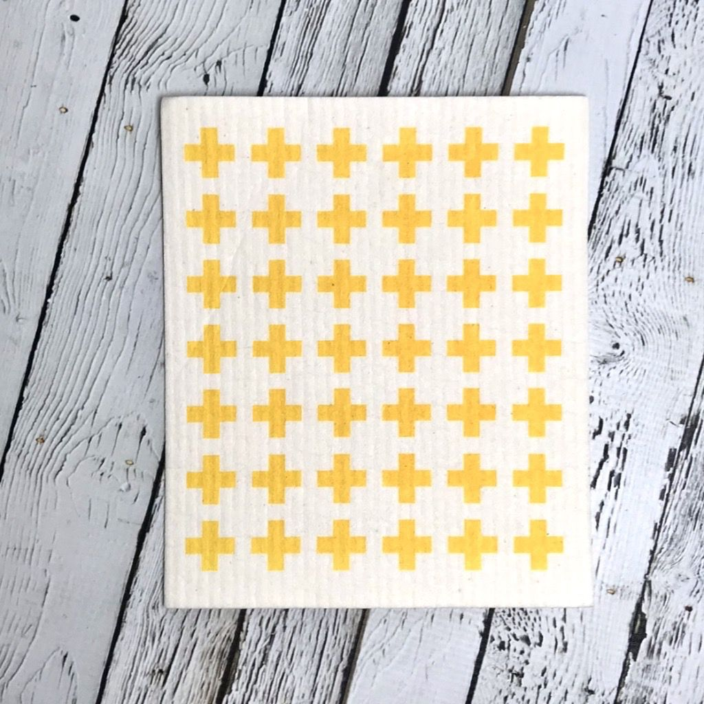 Lemon Swedish Dishtowel