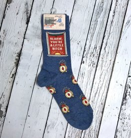 Alarm Bitch Women's Crew Sock