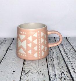 Pink Imprint Mug
