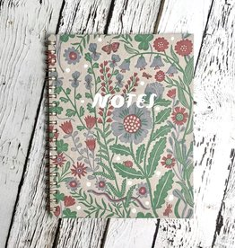 Ruled Flora Note Book