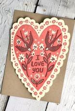 Love You Heart Card