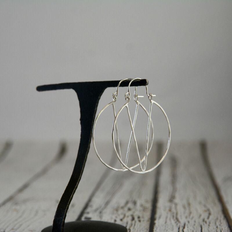 Handmade Sterling Silver Natalie Earrings