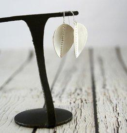 Handmade Sterling Silver Raven Earrings