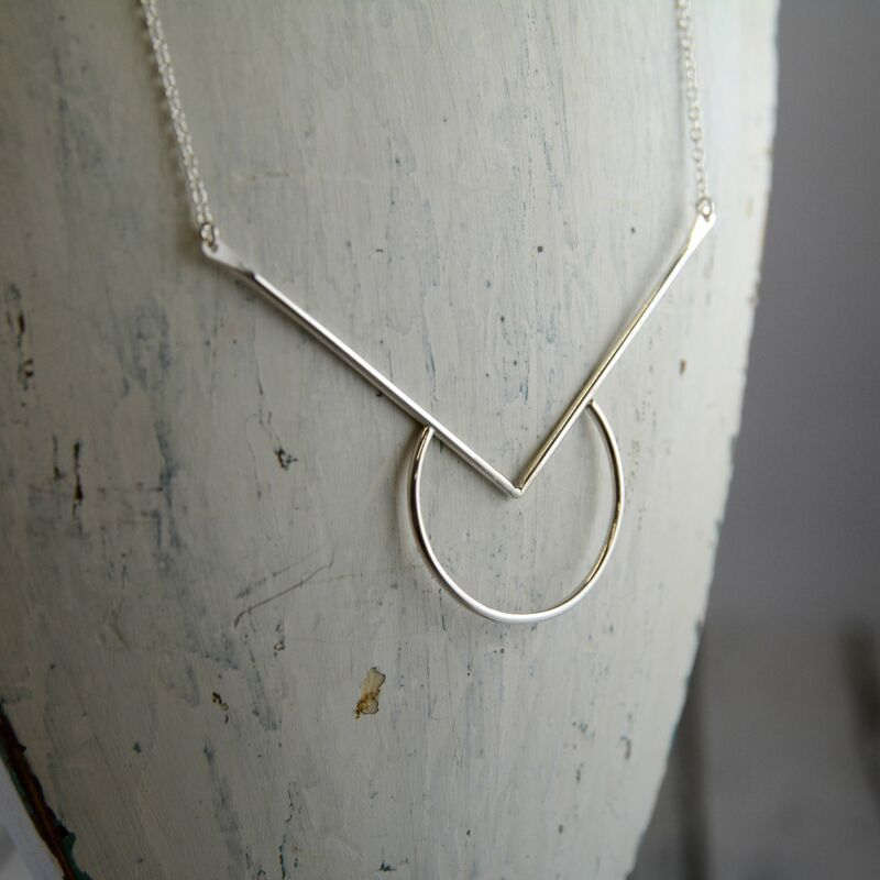 Handmade Sterling Silver Sedona Necklace