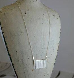 Handmade Sterling Silver Sahara Necklace