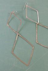 Handmade Sterling Silver Kenitra Earrings