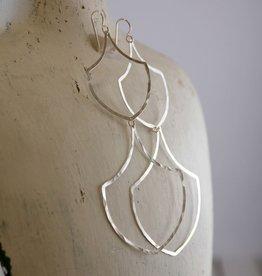 Handmade Sterling Silver Asilah Earrings