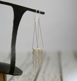 Handmade Sterling Silver Quanto Earrings