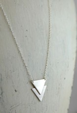 Handmade Sterling Silver Andes Necklace