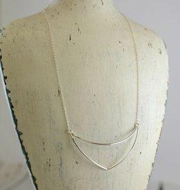 Handmade Sterling Silver Kenya Necklace