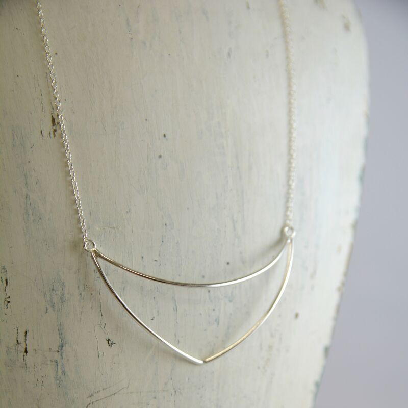 Handmade Sterling Silver Kenya Necklace