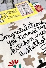 Kitchen Shithole Dish Towel