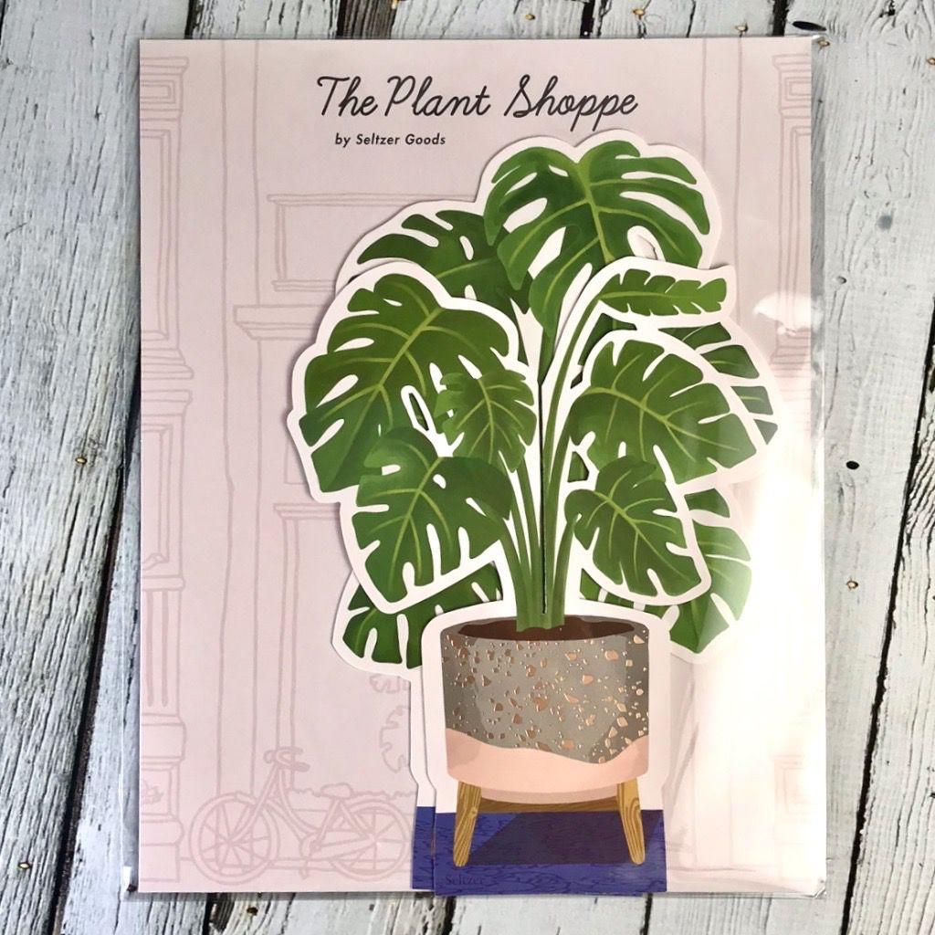 Paper Monstera Plant
