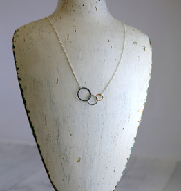 "Mixed Metals Storied Necklace (18"")"