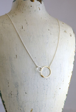 "Sterling Silver Love Necklace (18"")"