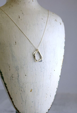 """Mixed Metals Trapezoids Necklace (18"""")"""