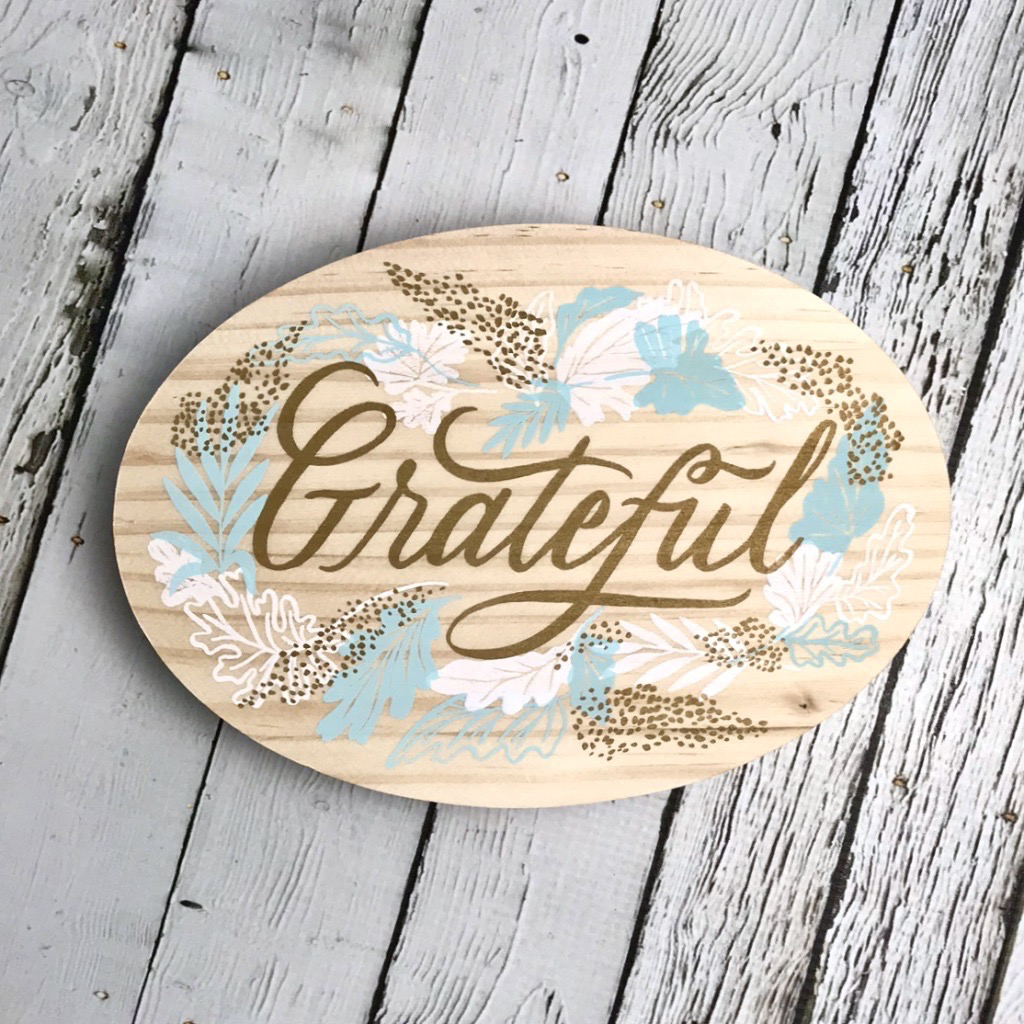 Here & There- Grateful (Medium)