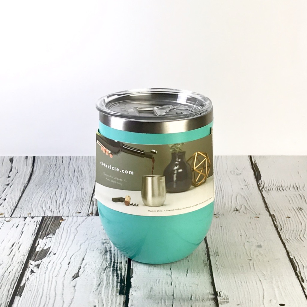 Turquoise Stemless Cup