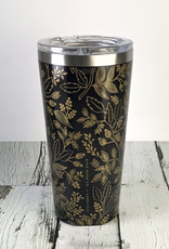 Queen Anne (Black) Tumbler
