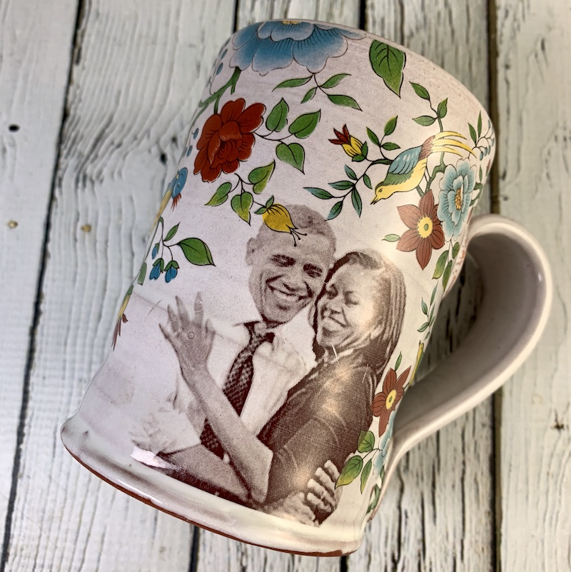 The Obamas Mug by Rothshank