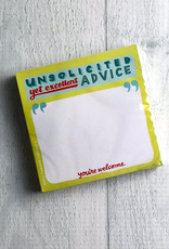 Unsolicited Advice Sticky Notes