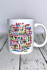 Show Up, Breathe Mug