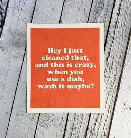 Wash It Maybe Swedish Dishcloth