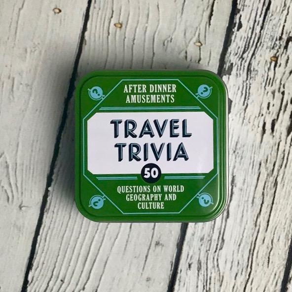 After Dinner Amusements: Travel Trivia50 Questions on World Geography and Culture
