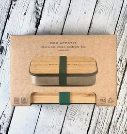 Olive Stainless Steel Sandwich Box