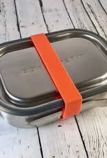 Orange Stainless Steel Lunch Box