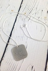 Handstamped Love You a Latte Necklace