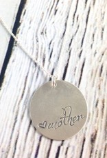Handstamped Mother Necklace