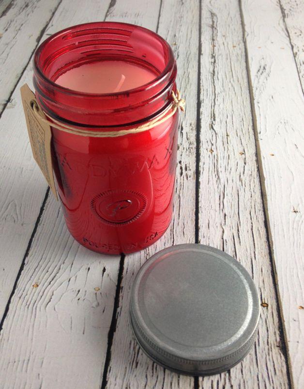 Pomegranate & Spruce 9.5 oz jar