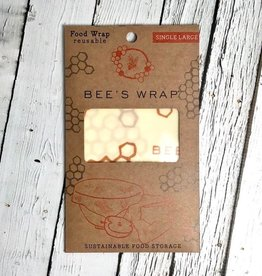 Single Large Bee's Wax Wrap