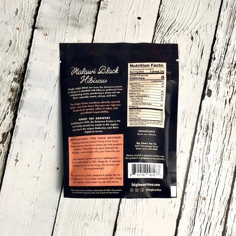 Malawi Black Hibiscus Tea
