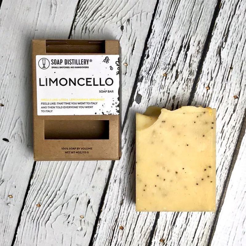 Limoncello Soap Bar