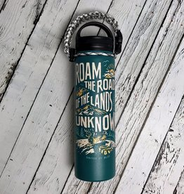 Land Unknown 22oz Stainless Steel Bottle