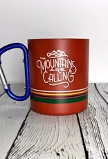 Mountains Are Calling 10oz Stainless Steel Carabiner Cup