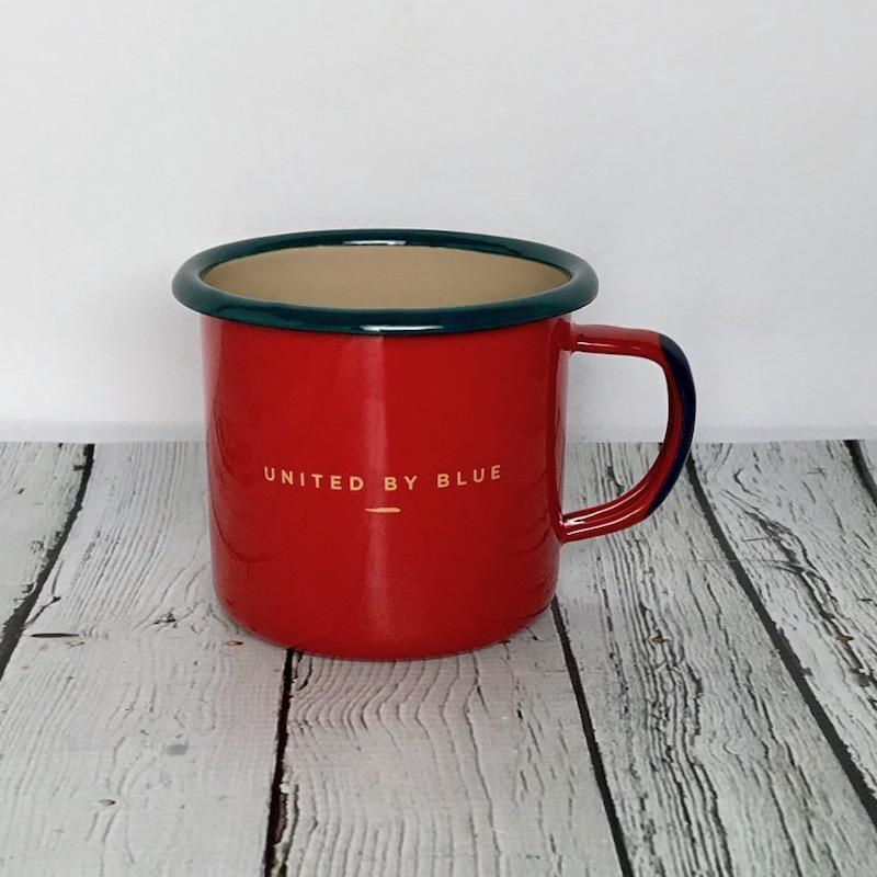Places You'll Go 12oz Enamel Steel Mug